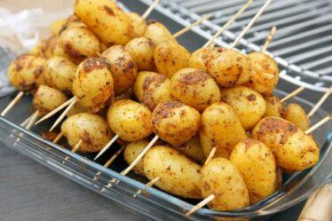 El beneficio de las papas en las dietas colóricas